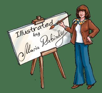 Illustrator Maria Rabinky