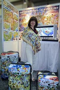 Map Artist Maria Rabinky