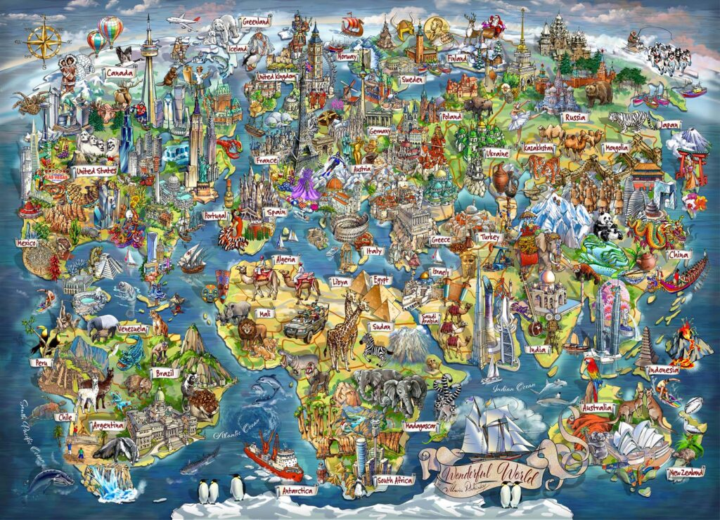 Map Illustration by Maria Rabinky