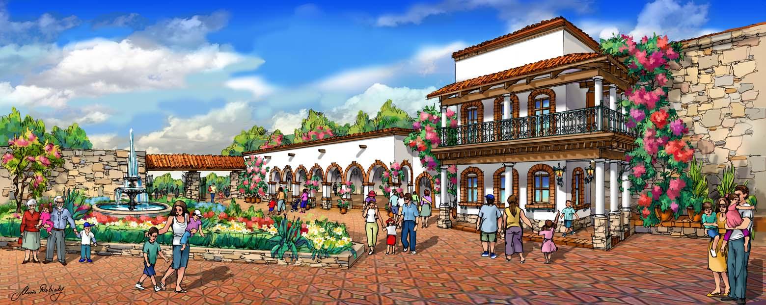 Main Plaza Illustration by Maria Rabinky