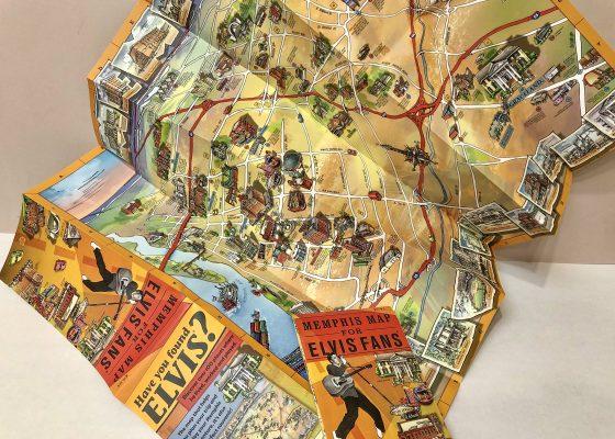Memphis Map Illustration