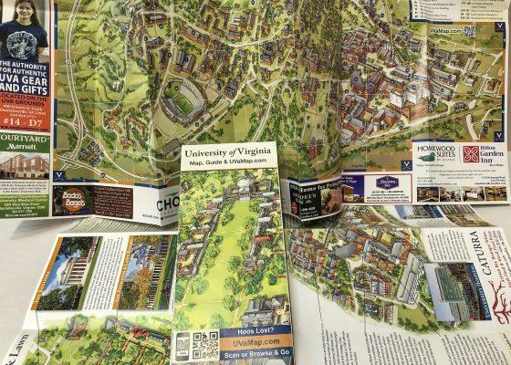 UVA Map Illustration